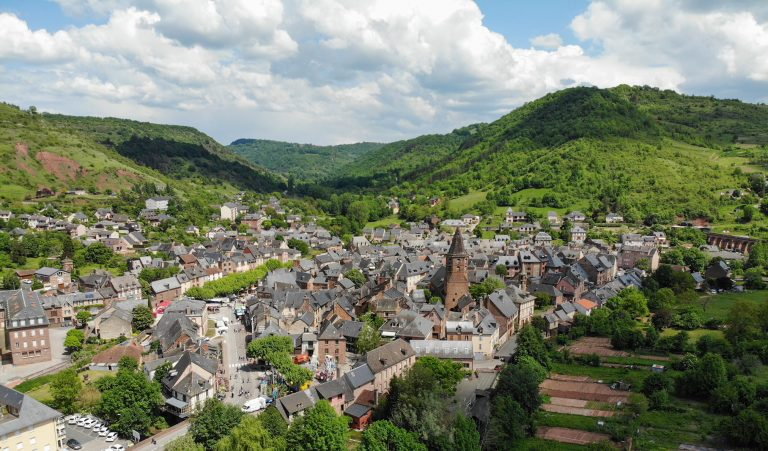 Le Bourg de Marcillac-Vallon