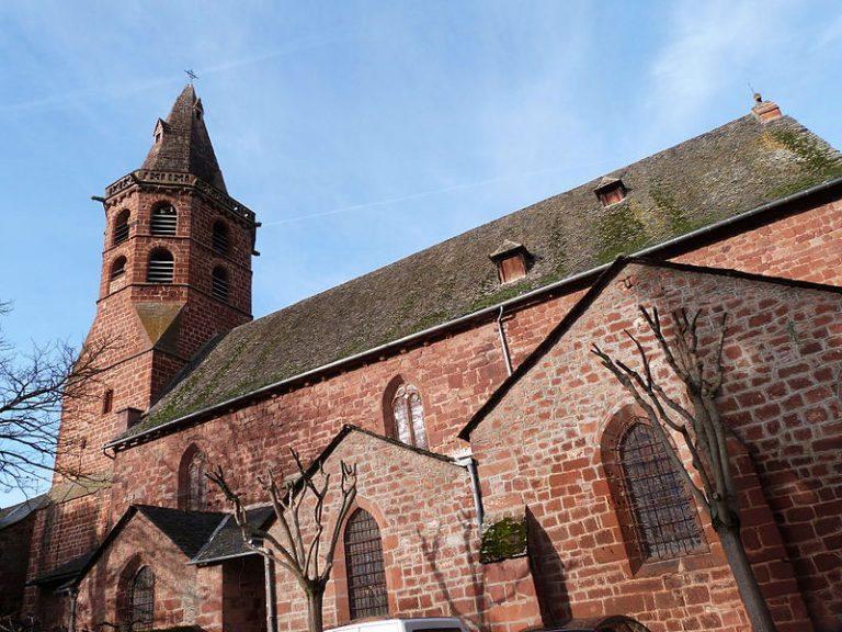 Eglise Saint-Martial à Marcillac